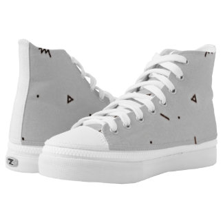 Cute Scratches On Your Feet High Tops