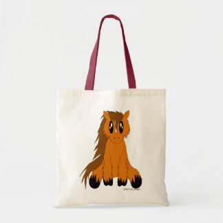 Cute Scruffy Pony Tote Bag