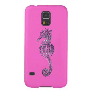 Cute Sea Horse Marine-life Art Cell Phone Case