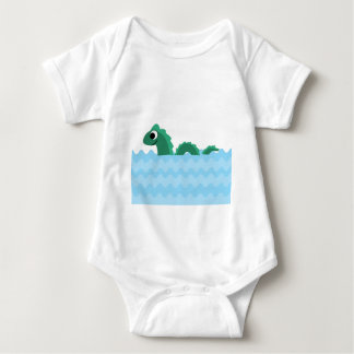 Cute Sea Monster Baby Bodysuit