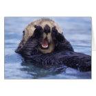 Cute Sea Otter | Alaska, USA Card