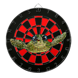Cute sea turtle dart boards