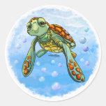 Cute Sea turtle stickers