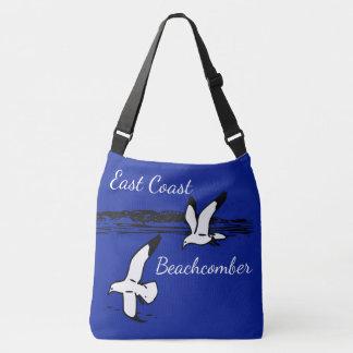 Cute Seagull Beach East Coast Beachcomber bag