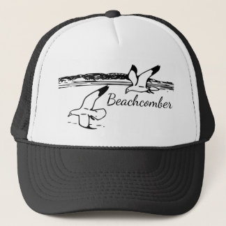 Cute Seagull Coastal Beach  Beachcomber hat