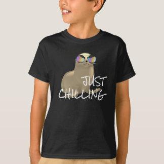 Cute Seal in Sunglasses T-Shirt