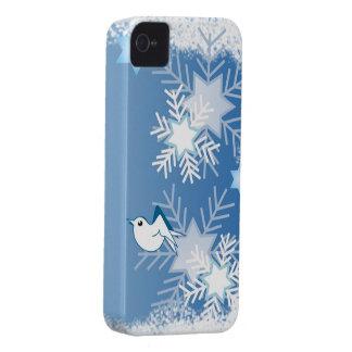 Cute Seasonal iPhone 4/4S Case-Mate Snowflakes iPhone 4 Case-Mate Cases
