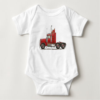 Cute Semi-Cab Baby Bodysuit