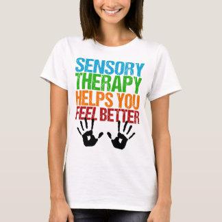Cute Sensory Therapy OT Handprints T-Shirt