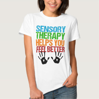 Cute Sensory Therapy OT Handprints Tee Shirts