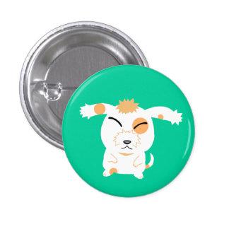 cute shaggy dog pinback buttons
