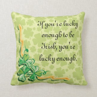 Cute Shamrock Lucky Cushion