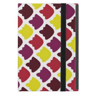 Cute shapes patterns design iPad mini case
