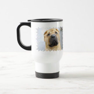 Cute Shar Pei Travel Mug