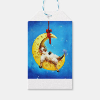 Cute Sheep in the Moon Sheep Incognito Nursery Gift Tags