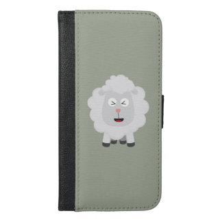 Cute Sheep kawaii Zxu64 iPhone 6/6s Plus Wallet Case