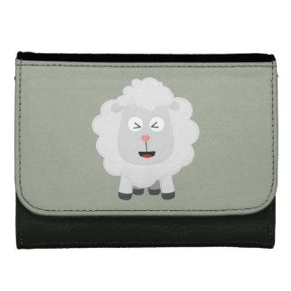 Cute Sheep kawaii Zxu64 Leather Wallet