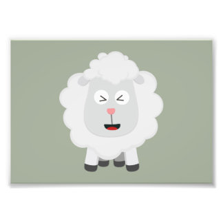 Cute Sheep kawaii Zxu64 Photo