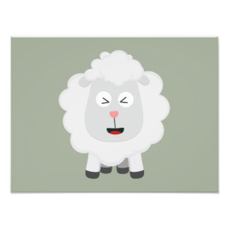 Cute Sheep kawaii Zxu64 Photograph