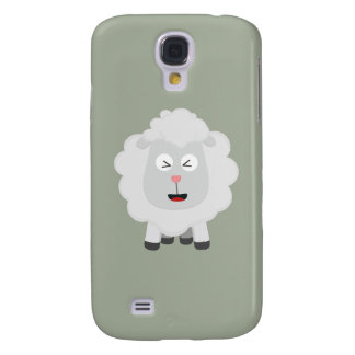 Cute Sheep kawaii Zxu64 Samsung Galaxy S4 Cover