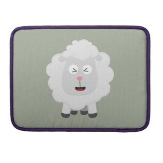 Cute Sheep kawaii Zxu64 Sleeve For MacBooks