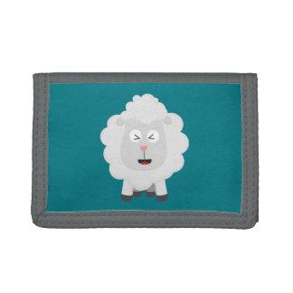 Cute Sheep kawaii Zxu64 Trifold Wallet