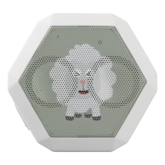 Cute Sheep kawaii Zxu64 White Bluetooth Speaker