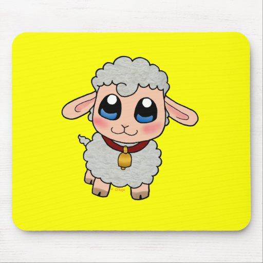 Cute Sheep Mouse Pad