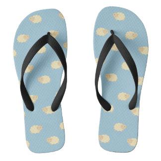 Cute Sheep Pattern Flip Flops Thongs