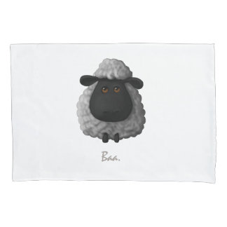 Cute Sheep Pillow Case