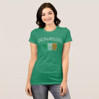 Cute Shenanigans Irish St Patricks Day T-Shirt