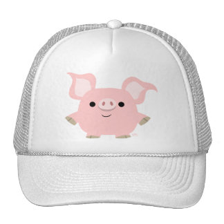 Cute Shorty Cartoon Pig Hat