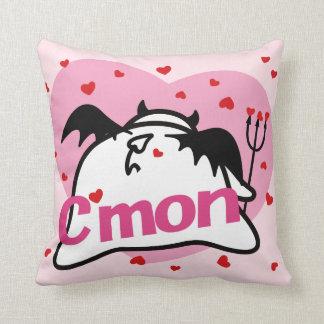 Cute Shy Devil in LOVE Cushion