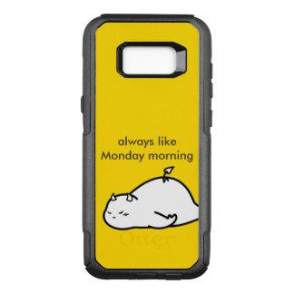 Cute Shy Devil in LOVE OtterBox Commuter Samsung Galaxy S8+ Case