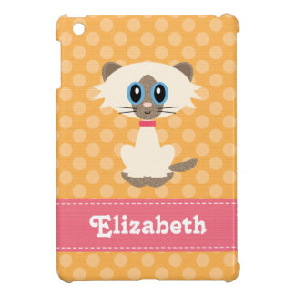 Cute Siamese Cat Cover For The iPad Mini