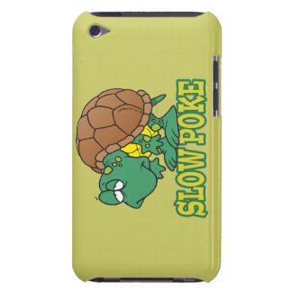 cute silly slow poke turtle cartoon iPod touch Case-Mate case