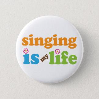 Cute Singing is My Life 6 Cm Round Badge