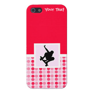 Cute Skateboarding Cover For iPhone 5/5S