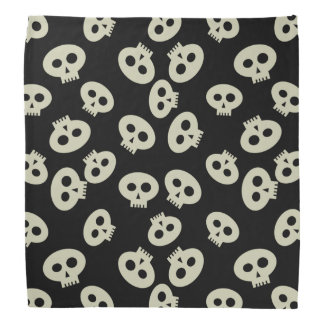 Cute Skeleton Kawaii Skull Pattern Bandanas