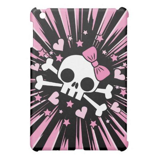 Cute Skull and Crossbones Cover For The iPad Mini