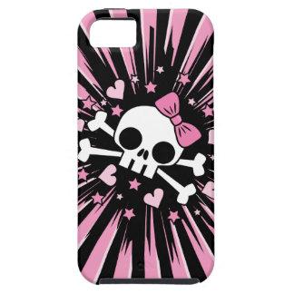 Cute Skull and Crossbones iPhone 5 Case