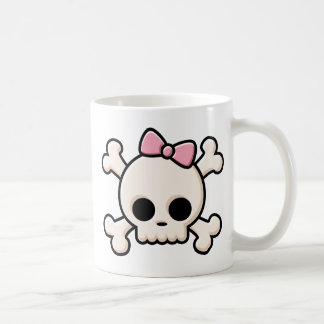 Cute Skull Girl Mug