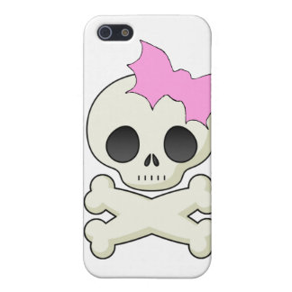 Cute Skull n Crossbones with Bat Bow Spec Case iPhone 5/5S Cover