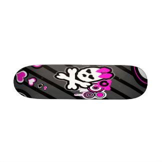 Cute Skull Skateboard