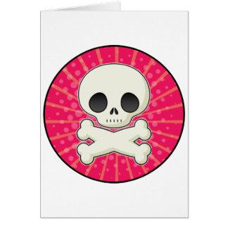 Cute Skulls Greeting Card