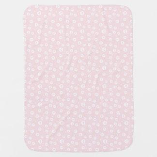 Cute Skulls Print Baby Girl Blanket Buggy Blanket