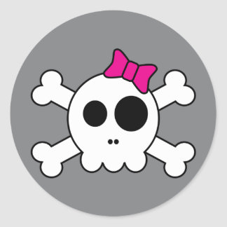 Cute Skully Stickers