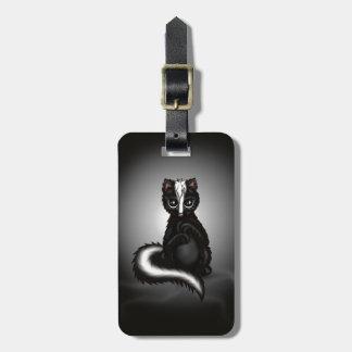 cute Skunk Luggage Tag