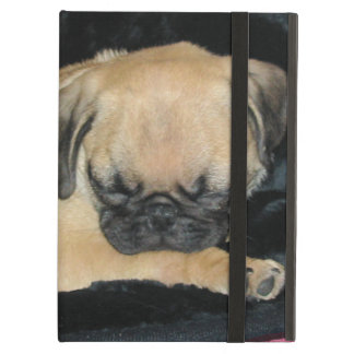 Cute Sleeping Pug Puppy iPad Air Cover