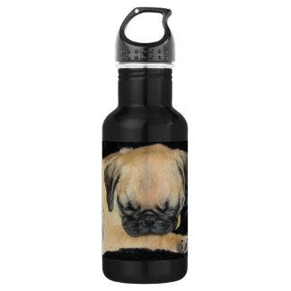 Cute Sleeping Pug Puppy 532 Ml Water Bottle